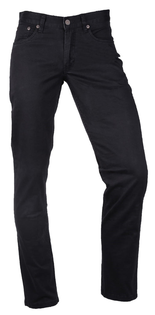 Slim 5 Pocket Trouser Pitch Black
