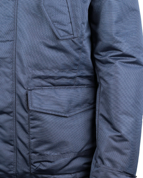 Blue Utica Jacket