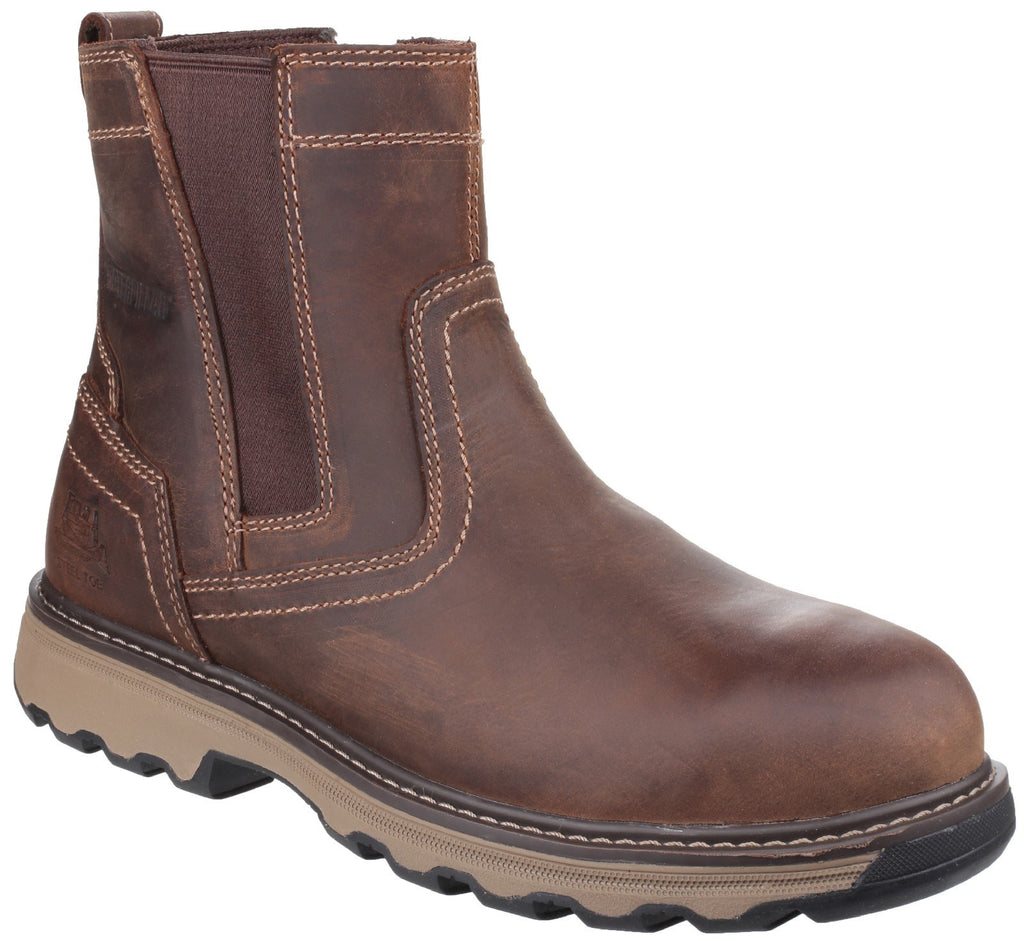 Pelton Safety Boot S1 Dark Beige