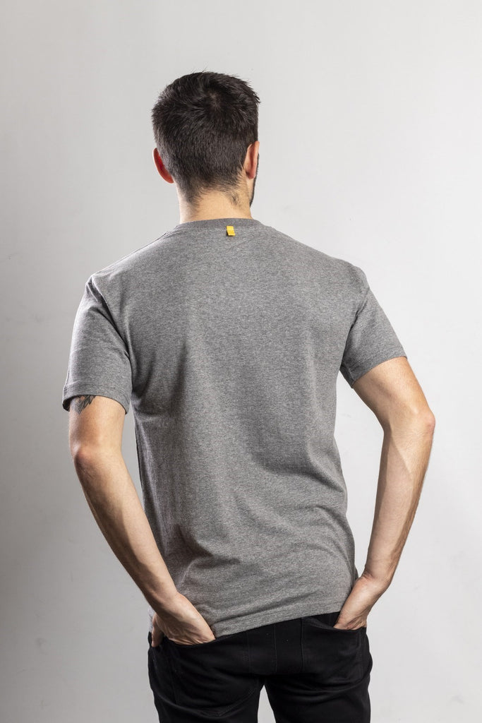 Trademark Logo T-Shirt  Dark Heather Grey