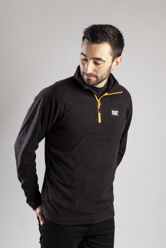 Concord Fleece Pullover  Black