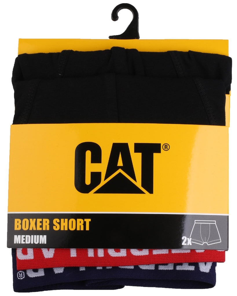 Boxer Shorts 2-Pack  Black/Fluro