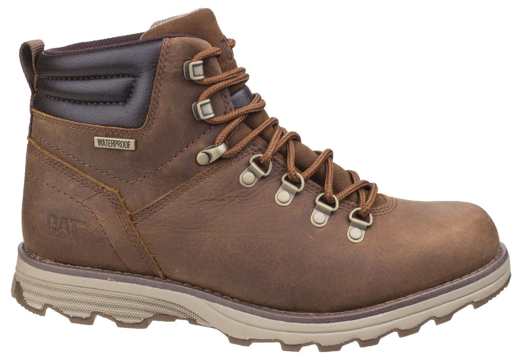 Sire Waterproof Lace Up Boot  Brown Sugar