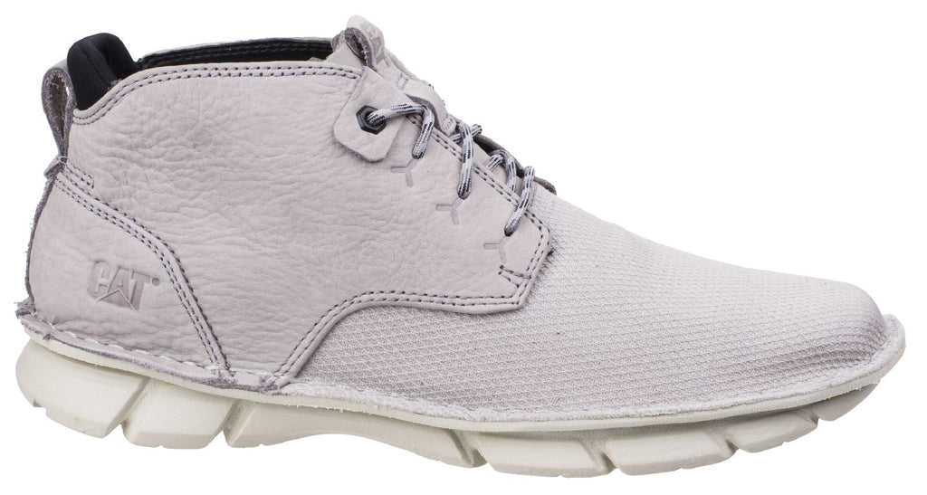 Almanac Canvas Lace Up Boot  Silver