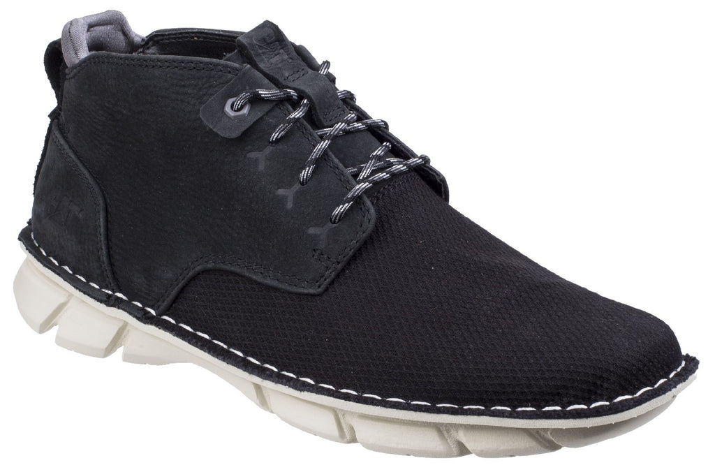 Almanac Canvas Lace Up Boot  Black