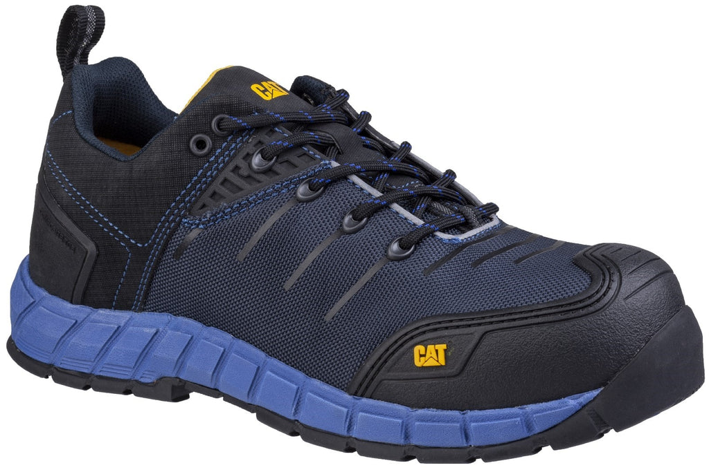 Byway Lace Up Safety Trainer S1 BLUE NIGHTS