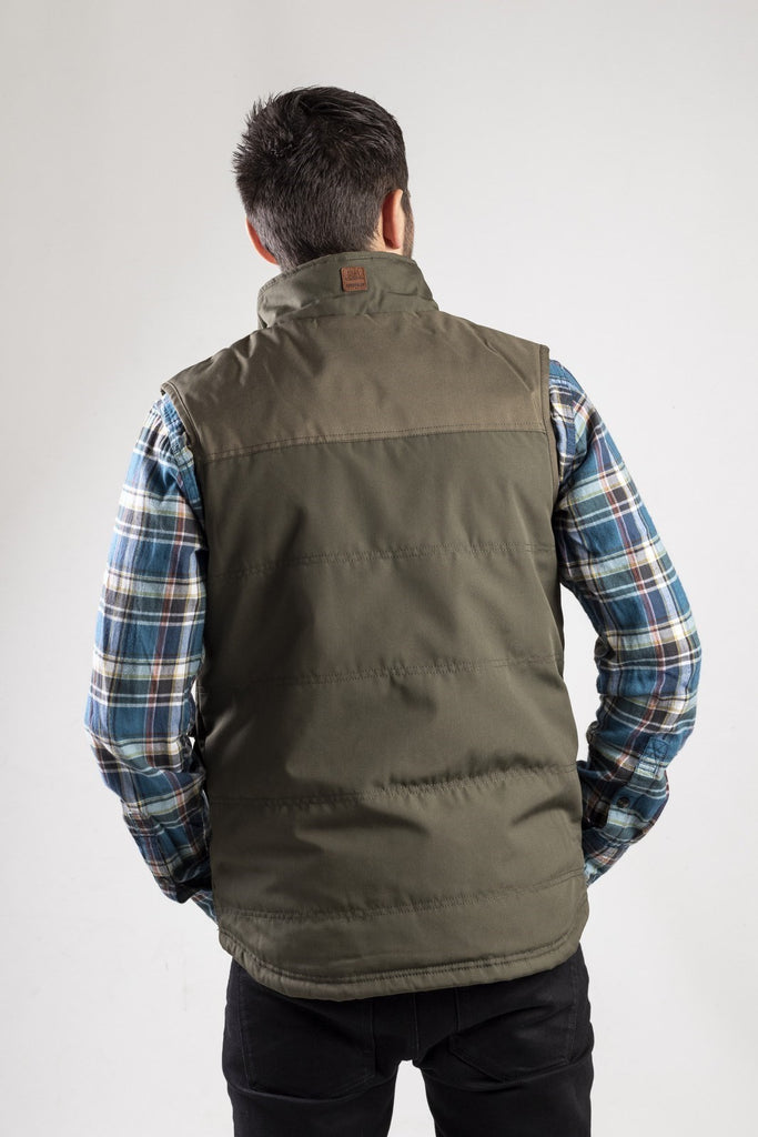 AG Vest Zip Up  Cypress