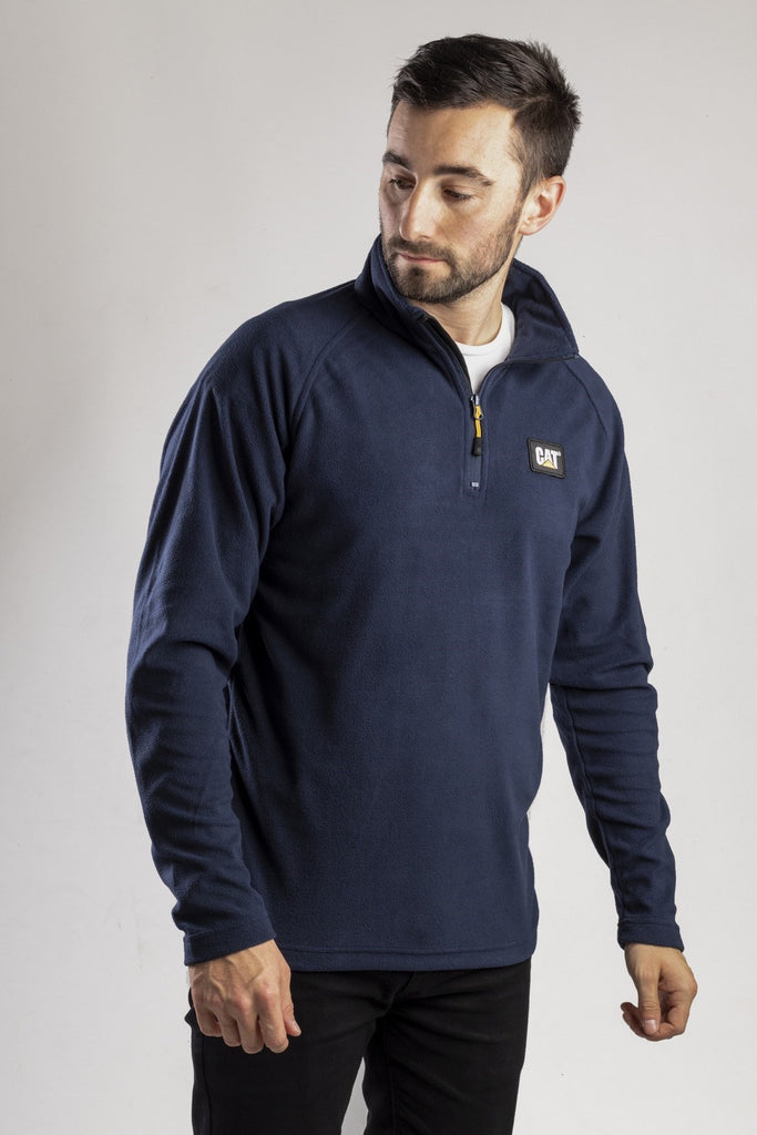 AG Fleece Pull Over Jumper  Eclipse