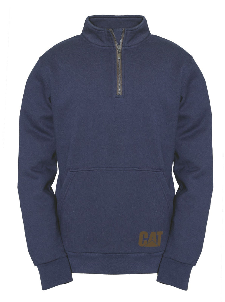 AG 1/4 Zip Pull Over Jumper  Eclipse