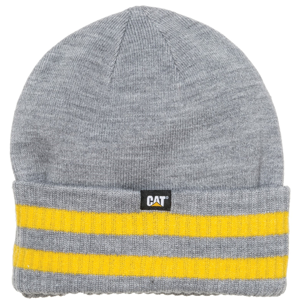 Dillon Beanie  Grey/Yellow