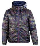 Flight Reverse Zip Up Jacket  Camouflage