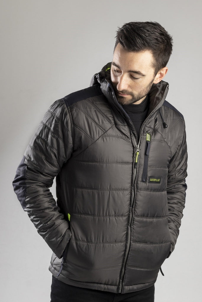 Boreas Insulated Puffer Jacket  Dark Shadow