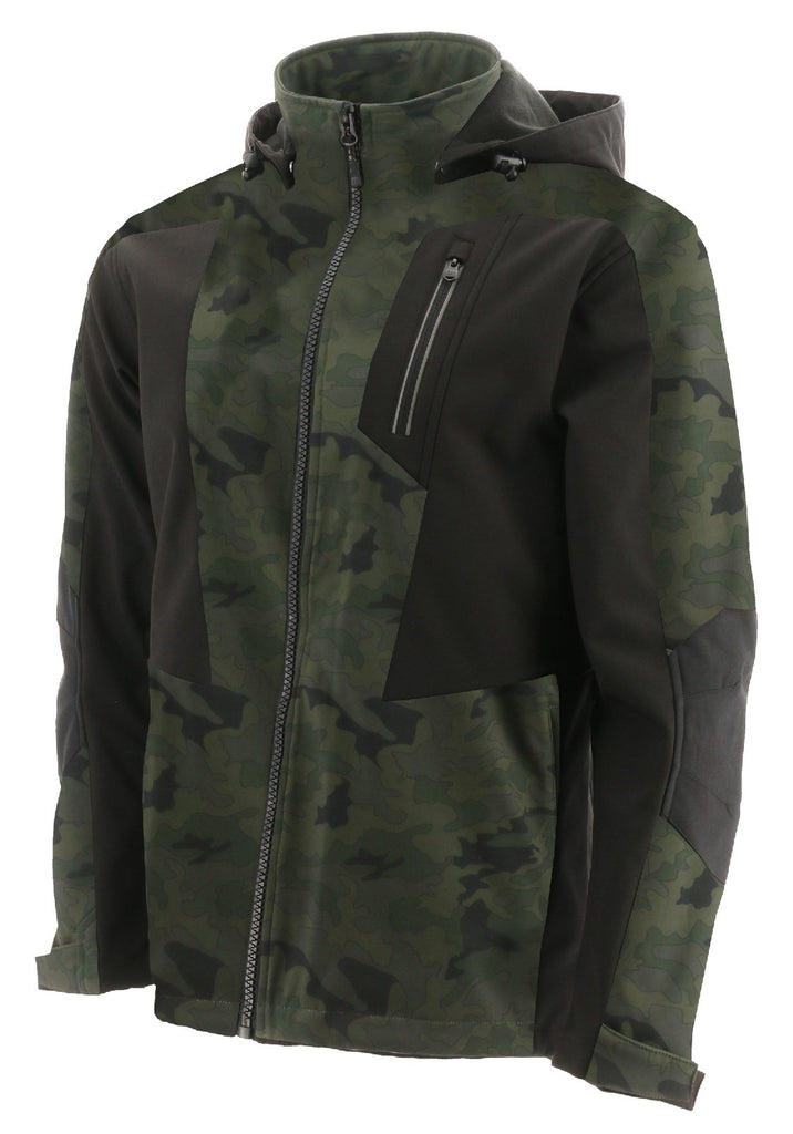 Mercury Soft Shell Jacket  Night Camo