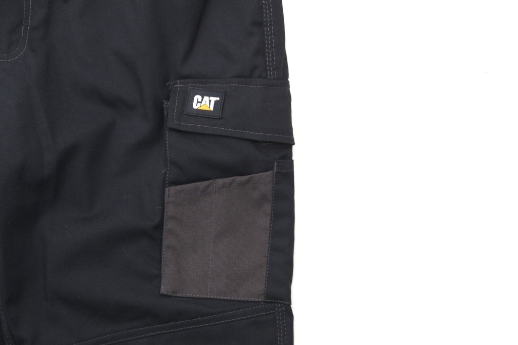 Essentials Knee Pocket Work Trouser  Black