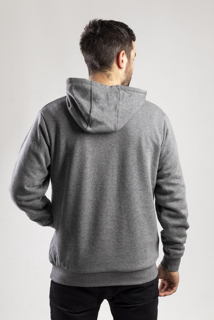 Trademark Lined Hoodie  Dark Heather