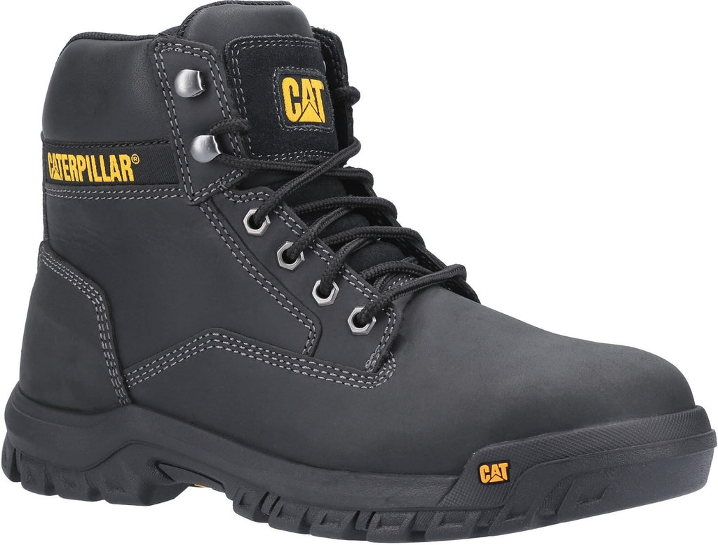 Median S3 Lace Up Safety Boot S3 Black
