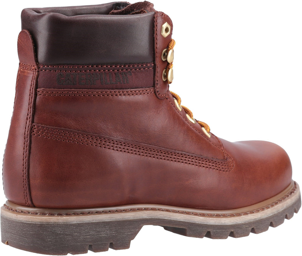 Colorado Lux Lace Up Boot  Leather Brown