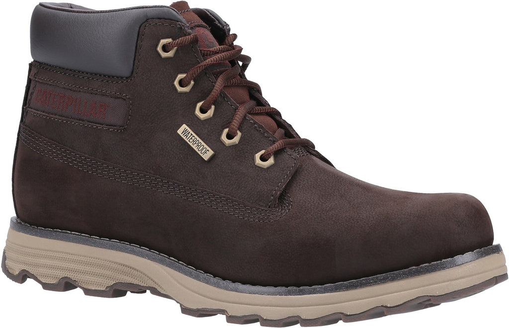 Founder WP TX Lace Up Boot  Coffee Bean