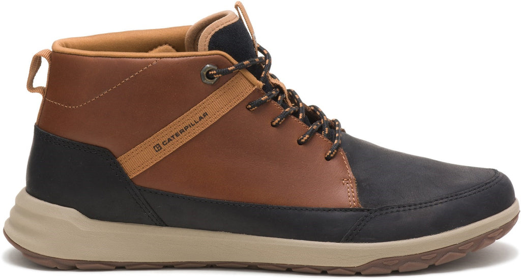 Quest Mid Hi-Top Shoe  Black/Brown Sugar