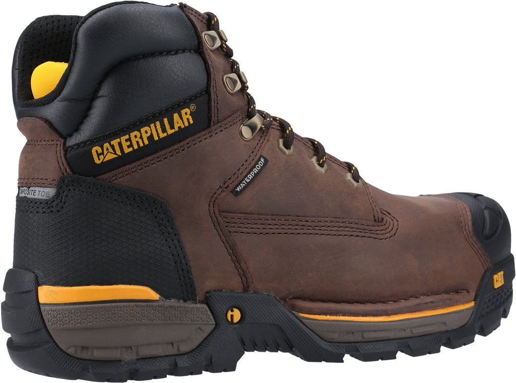 Excavator Lace Up Safety Hiker S3 Espresso