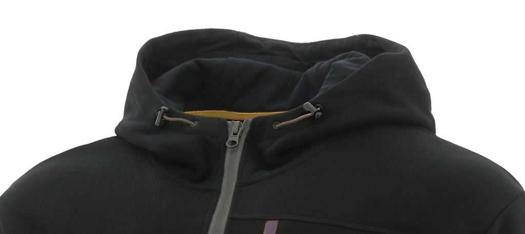 H2O Zip Work Sweatshirt  Black