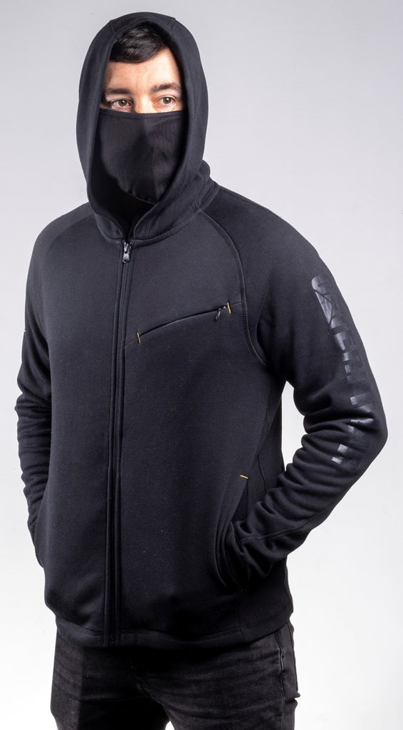 Viraloff Hooded Sweatshirt  Black