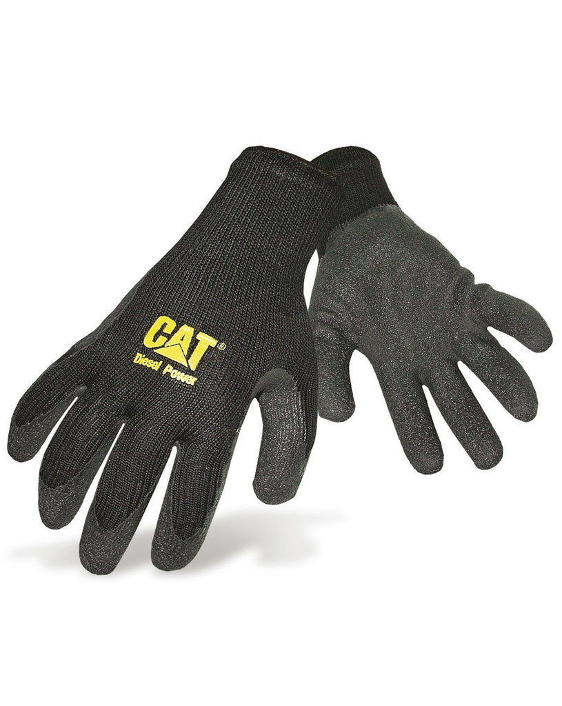 Jumbo Latex Palm Glove Black