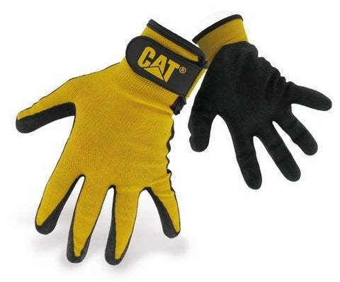 Yellow Nitrile Coated Glove
