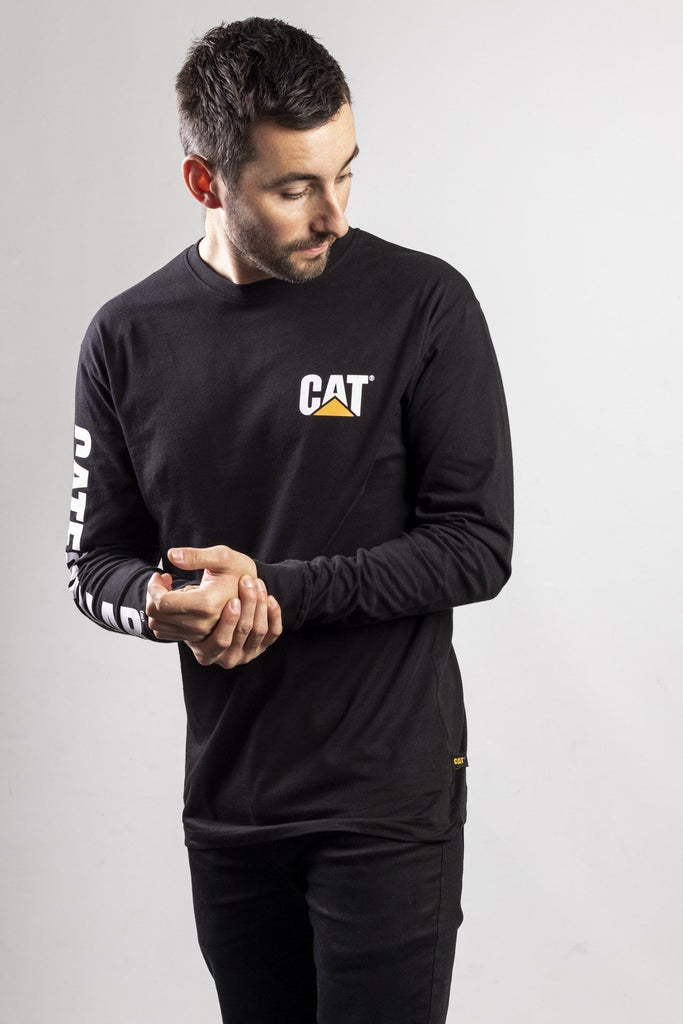 Trademark Banner Long Sleeve T-Shirt  Black