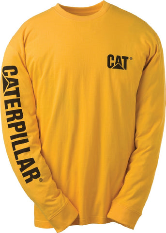 Yellow Trademark Banner Long Sleeve T-Shirt