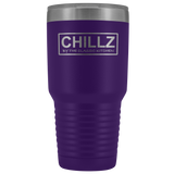 Chillz 30oz. Stainless Steel Double-wall Tumbler