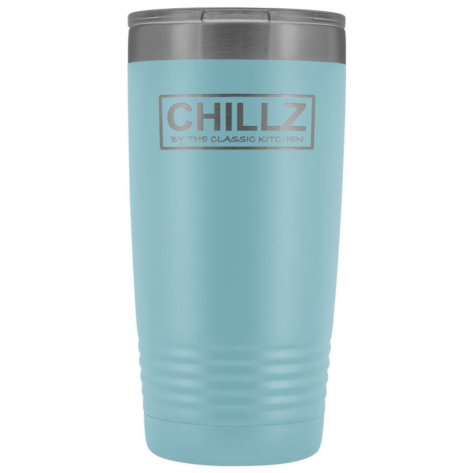 Chillz 20oz. Stainless Steel Double-wall Tumbler