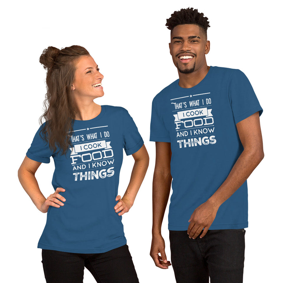 That's What I Do Short-Sleeve Unisex T-Shirt