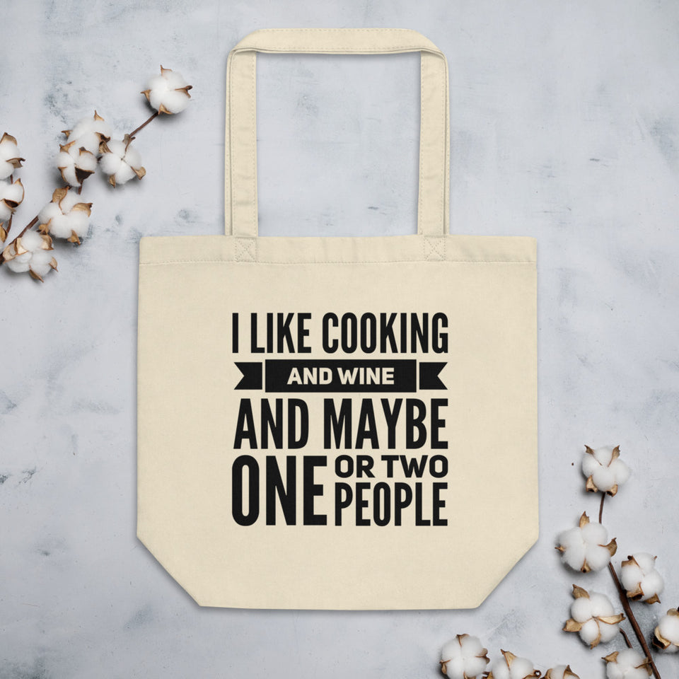I Like Cooking Eco Tote Bag
