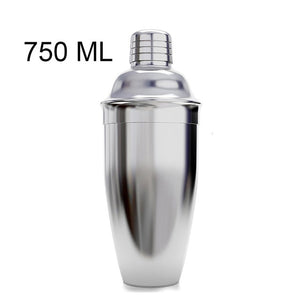 Stainless Steel Cocktail Shaker For Bar Tools 550ML or 750ML