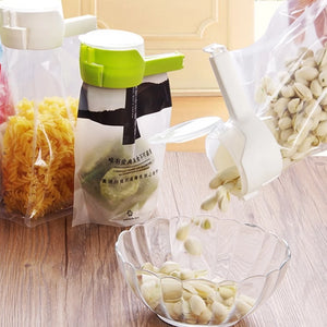 Food Storage Bag Seal And Pour Clip