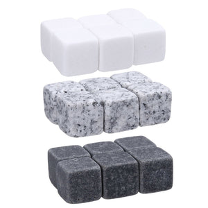 6pcs/set Natural Whiskey Stones