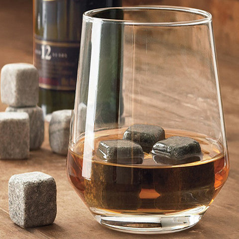 9 Pack On the Rocks Whiskey Ice Stones
