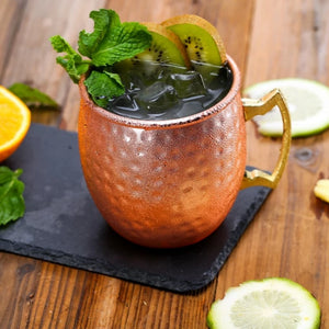 Hammered Moscow Mule Mugs