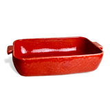 Cozina Rectangular Baker - Claret/Red