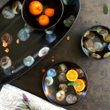 Dappled Medium Oval Tray