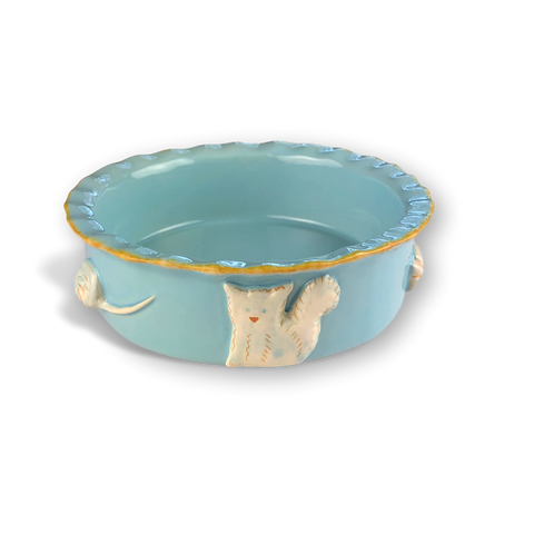 Cat Bowl - Sky Blue