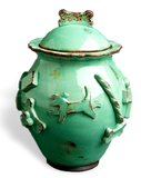 Dog Treat Jar - Green