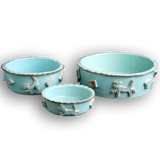 Dog Food/Water bowl - Baby Blue