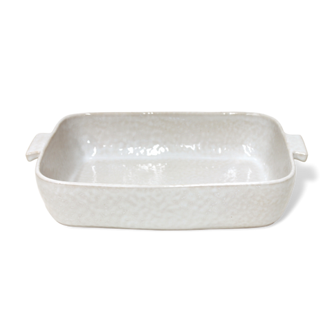 Cozina Rectangular Baker - White