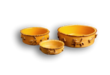 Dog Food/Water bowl - Caramel