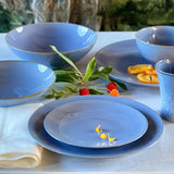 Rhapsody Salad Plate - Blue