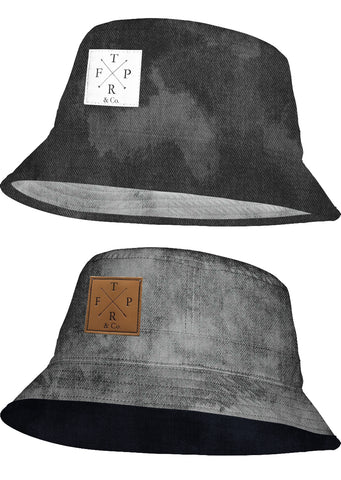 Black Acid Bucket Hat