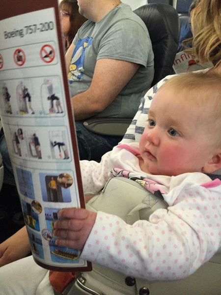 Top Tips on Flying with Baby