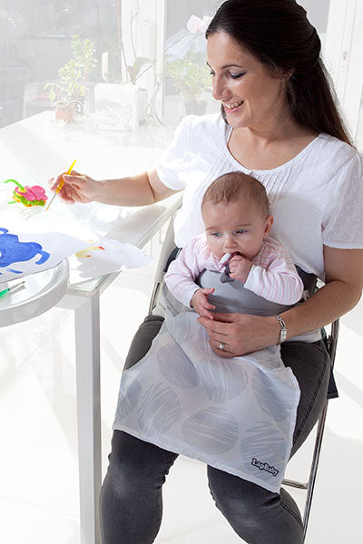 LapBaby hands-free seating aid makes weaning easier
